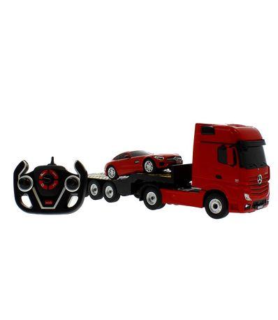 Camion-R---C-Mercedes-avec-voiture