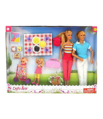 Pack-Poupees-Defa-Lucy-Pique-nique-familial