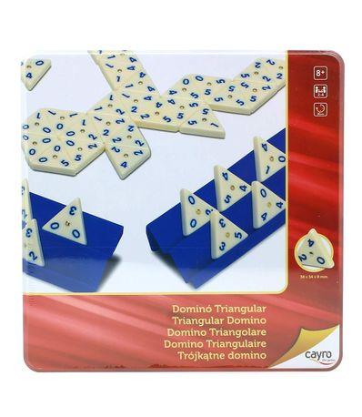 Domino-Triangular-Metal-Box