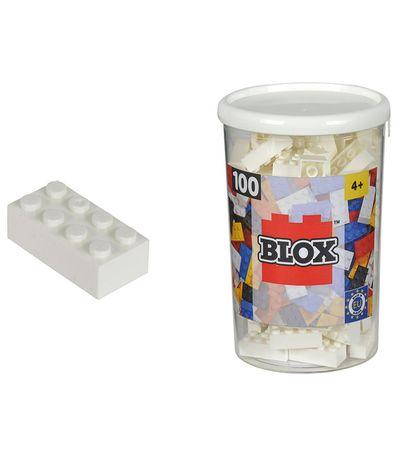 Blox-Bote-100-Briques-Blancs