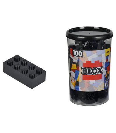 Blox-Bote-100-Briques-Noirs