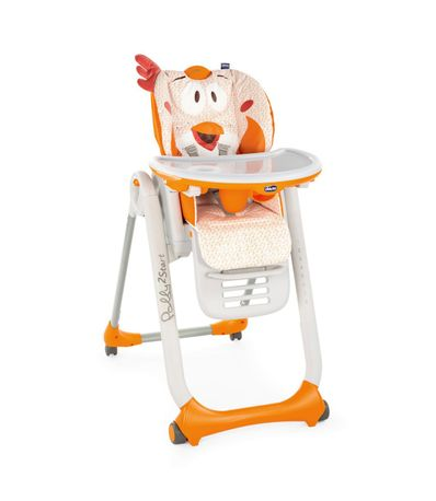Chaise-haute-Polly-2-etoiles-Evolutiva-Fancy-poulet
