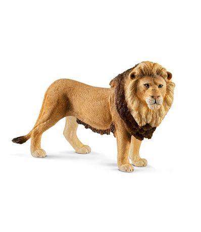 Lion-figure