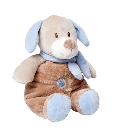 Chien-en-peluche-28-cm-Bleu