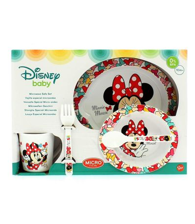 Vaisselle-Micro-ondes-5-Pieces-Minnie