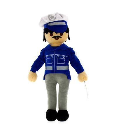 Teddy-Playmobil-Police-classique-40-cm
