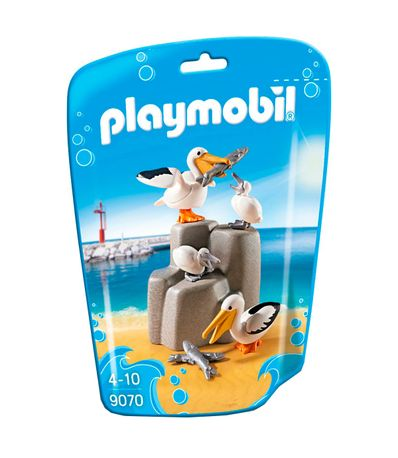 Playmobil-Family-Fun-Famille-de-Pelicans