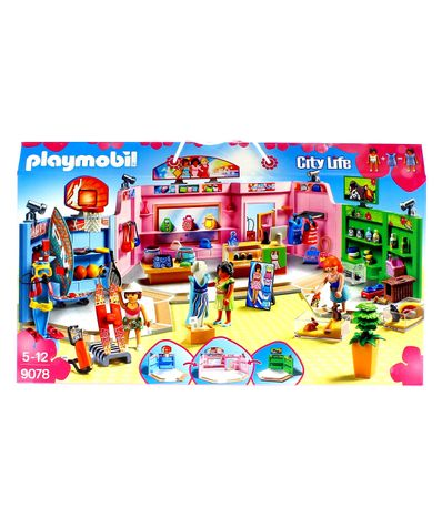 Playmobil-City-Life-Galerie-Marchande