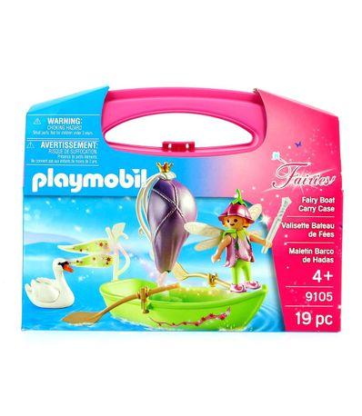 Playmobil-Mallette-bateau-de-fees