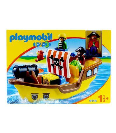 Playmobil-123-Bateau-Pirate