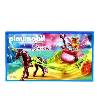 Playmobil-Fairies-Fee-des-fleurs-avec-chariot