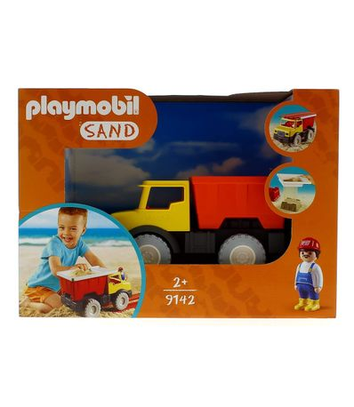 Playmobil-Sand-Camion-tomboreau-avec-seau