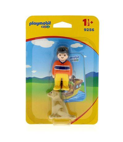 Playmobil-123-Garcon-avec-Chien