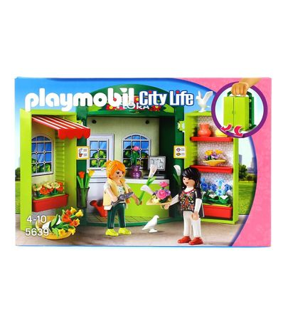 Playmobil-City-Life-Coffre-Fleuriste