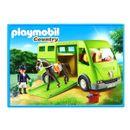 Playmobil-Country-Cavalier-avec-van-et-cheval