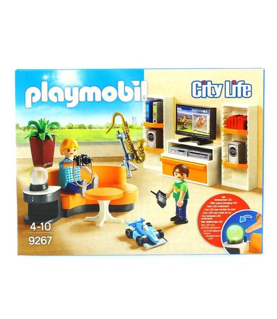 Playmobil-City-Life-Sallon
