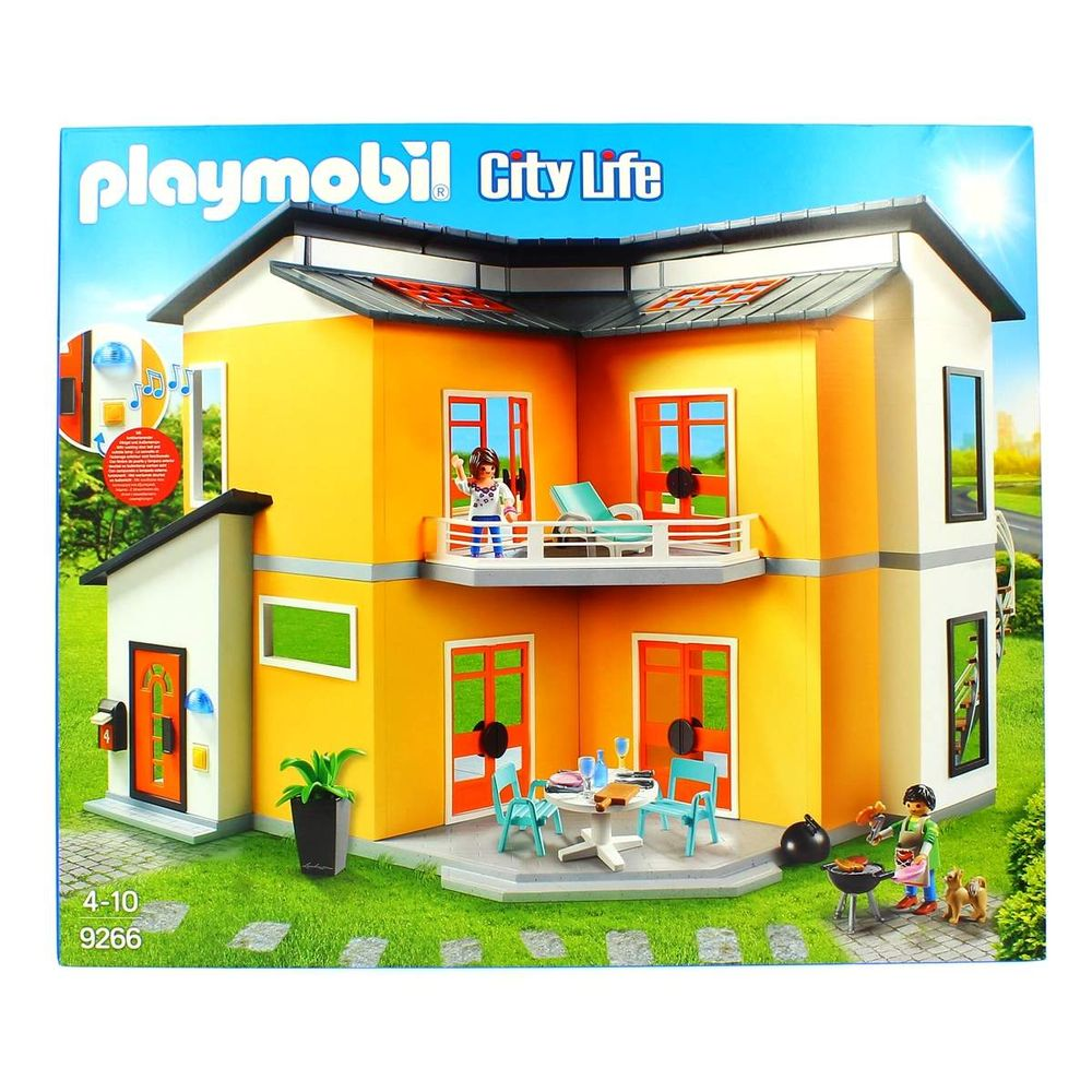 playmobil city life maison moderne drimjuguetesfr. Black Bedroom Furniture Sets. Home Design Ideas