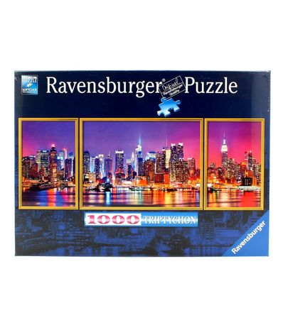 Puzzle-New-York-Triptyque-de-1000-pieces