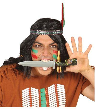 Accessoire-de-carnaval-Couteau-indien
