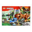 Lego-Jurassic-monde-Juniors-Tombe-Royaume-Fuga-T-Rex