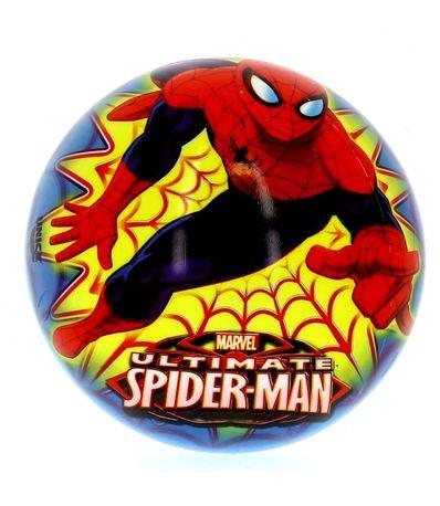 Spiderman-Ultimate-Pelota-Azul-de-15-cm