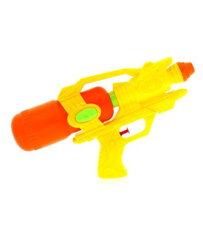 Pistolet-a-eau-jaune-et-orange-40-cm