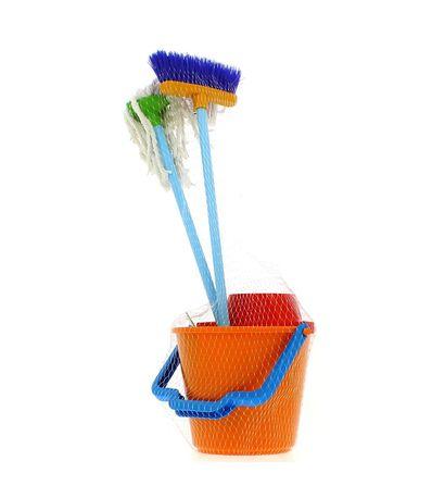 Ensemble-de-nettoyage-pour-enfant-orange