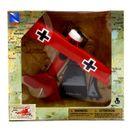 Avion-bombardier-avec-piedestal-Fokker-Dr1-echelle-1-48