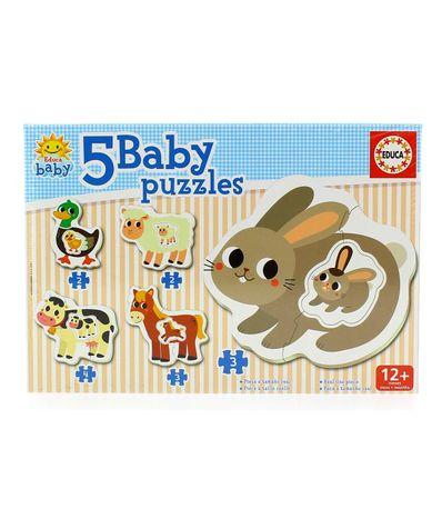 Puzzles-de-bebe-Animaux-de-ferme