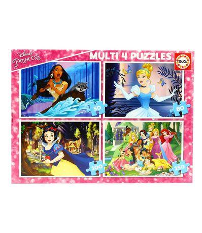 Princesses-Disney-4-Multi-Puzzles