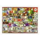 Puzzle-Billetes-del-Mundo-de-1000-Piezas