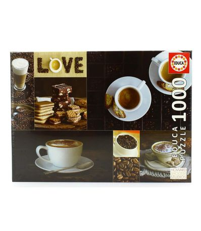 Puzzle-de-temps-de-cafe-de-1000-pieces