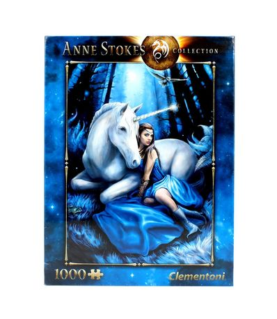 Puzzle-Anne-Stokes-Luna-Azul-de-1000-Pieces