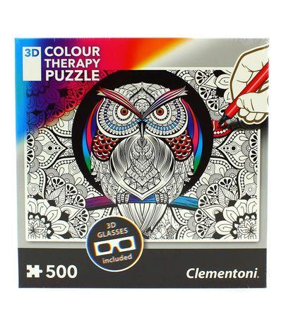 Puzzle-Mandala-de-Chouettes-500-Pieces