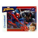 Spiderman-Puzzle-104-Pieces-avec-Lunettes-3D