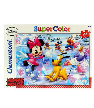 Minnie-Mouse-Puzzle-Patinoire-104-Pieces