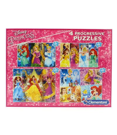 Princesses-Disney-Ensemble-Puzzles-Progressifs