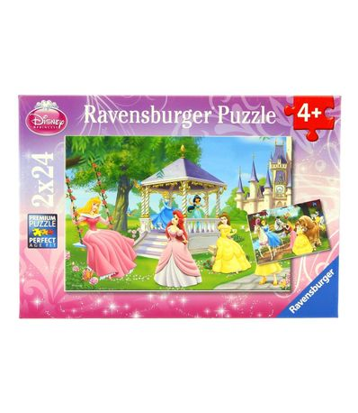 Princesses-Disney-Puzzle-2-x-24-Pieces