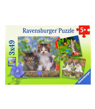 Puzzle-Tabby-Chatons-3-x-49-pieces