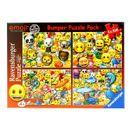 Emoji-Super-Pack-4-Puzzles-de-100-pieces