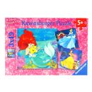 Princesses-Disney-Puzzles-3x49-Pieces
