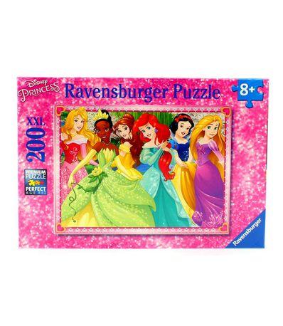 Princesses-Disney-Puzzle-200-Pieces-XXL