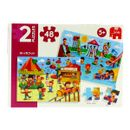 Puzzle-Aquatique-Parc-pour-enfants-et-equitable-2x48