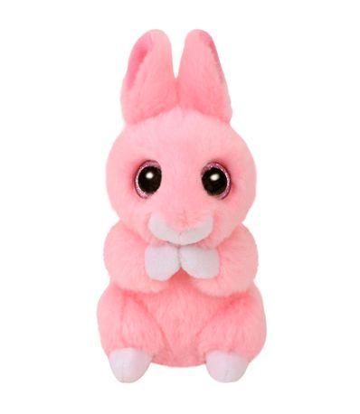 Beanie-Boo--39-s-Lapin-en-peluche-rose-15-cm