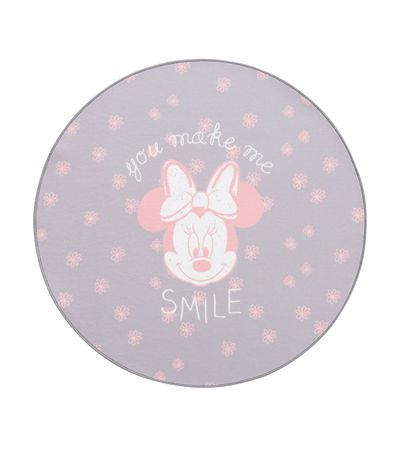Tapis-rond-rose-Minnie