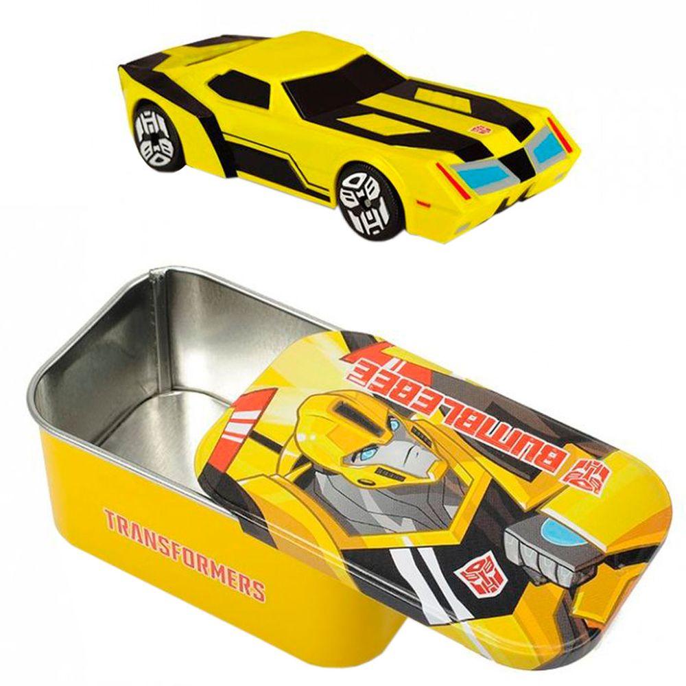 En Bumblebee Boîte Métal Avec Transformers NOnm80vw
