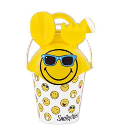 Smiley-Beach-Set-avec-des-lunettes-de-soleil