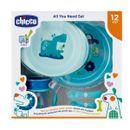 Vaisselle-pour-enfants-5-pcs--12-m-Bleu