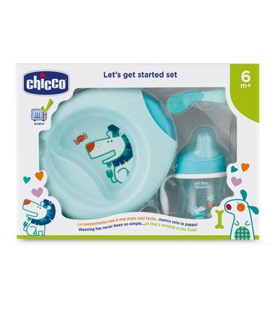 Vaisselle-pour-enfants-3-pieces--6-mois-Bleu