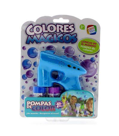 Pompas-Gun-Magic-Colors-Bleu